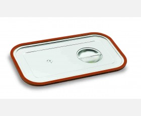 GASTRONORM LID GN 1/1 W/SILICONE FRAME