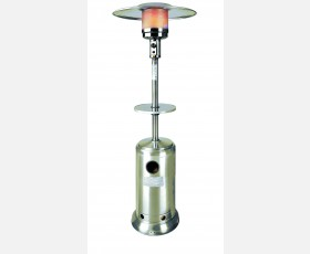 OUTDOOR ST STEEL GAS HEATER 12000W W/REF