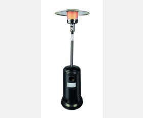 OUTDOOR GAS HEATER BLACK 12000W W/REFLEC