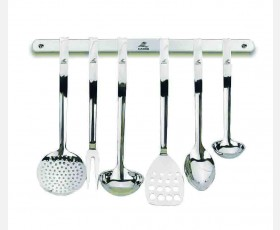 6 KITCHEN TOOL SET HANGING RACK - PROF.