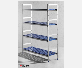 Aluminium storage rack