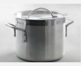 Stew pot high - with lid, 10 L, dia: 240x(H)220 mm