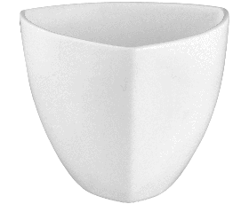 Bowl triangular high