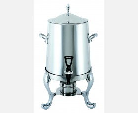 Single Wall Coffee Urn (w/chromic handles and leg) 19L