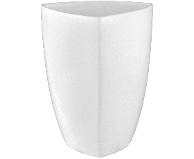 Dressingpot triangular