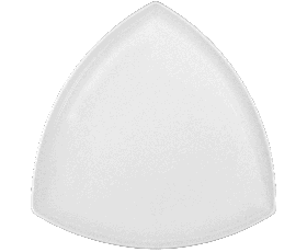 Plate triangular