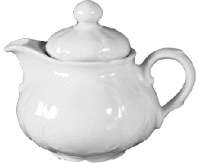 Tea pot 1  0,33 ltr.